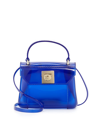 Candy Bon Bon Mini Crossbody Bag, Ocean