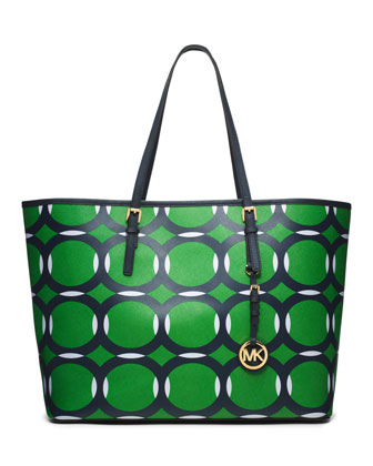 Medium Jet Set Deco Travel Tote