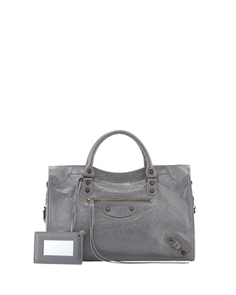 Classic City Bag, Dark Gray