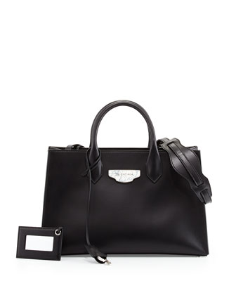 Nude Works Extra-Small Tote Bag, Black