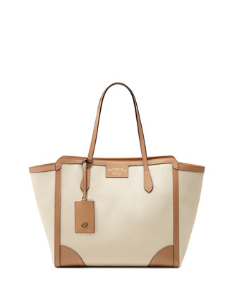 Swing Medium Tote Bag, Light Brown
