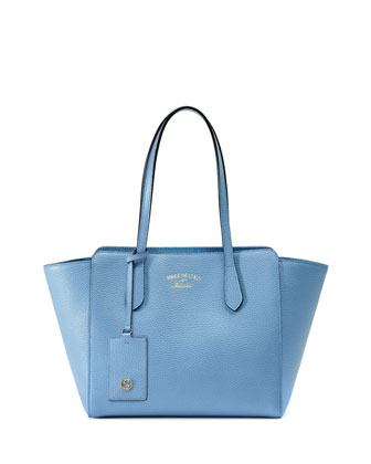 Swing Small Tote Bag, Light Blue