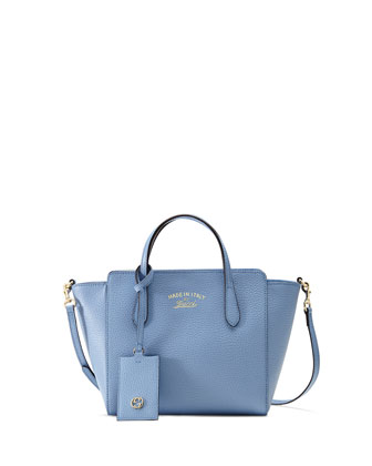 Swing Mini Crossbody Bag, Light Blue