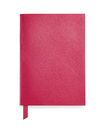 Leather Manuscript Book, Fuchsia