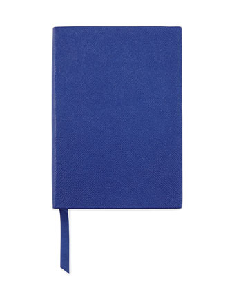 Leather Manuscript Book, Cobalt