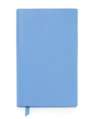 Panama Lambskin Notebook, Blue