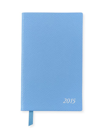 2015 Panama Diary with Pocket, Cobalt