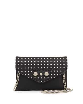 Tina Studded Crossbody Bag, Black