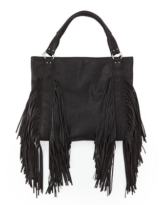 Castaway Small Fringe Shoulder Bag