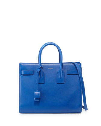 Sac de Jour Small Carryall Bag, Cobalt