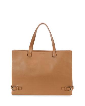Calfskin Tote Bag, Cuir
