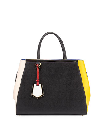 2Jours Colorblock Tote, Multi