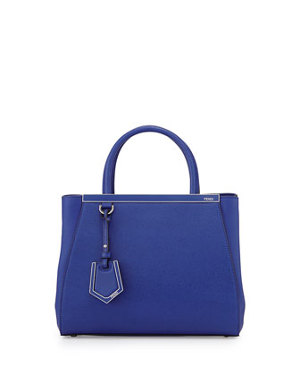 2Jours Mini Shopping Tote, Cobalt Blue