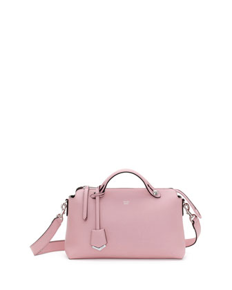 By The Way Small Leather Satchel Bag, Pink