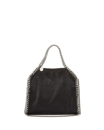 Falabella Mini Tote Bag, Black