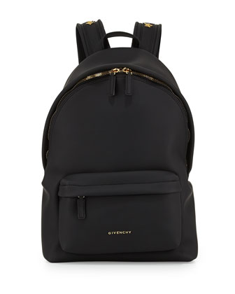 Rubber-Effect Star-Studded Backpack
