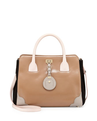 Jourdan 2 Petite Tote Bag, Beige