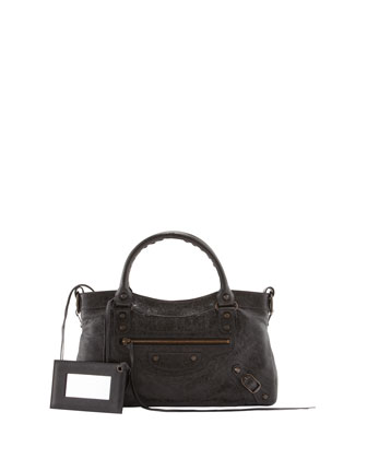 Classic First Satchel Bag, Black