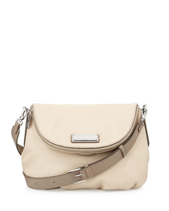 New Q Natasha Crossbody Bag, Light Sand