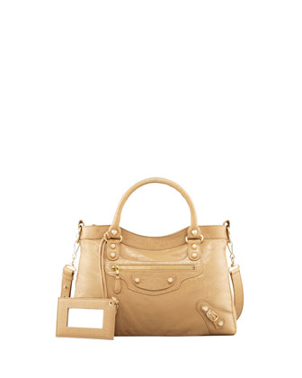 Giant 12 Golden Town Bag, Beige