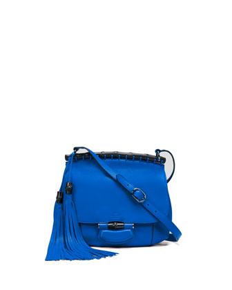 Nouveau Medium Leather Crossbody Bag