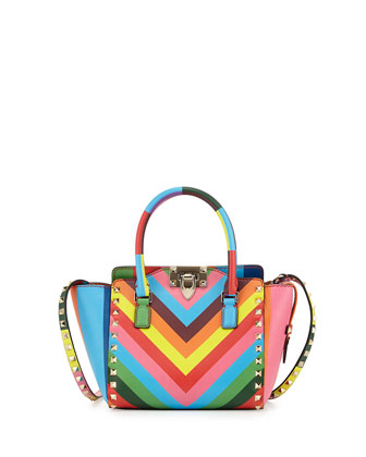 1973 Micro Mini Shopper Bag, Multicolor
