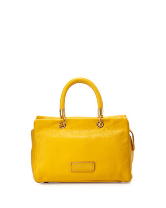 Too Hot To Handle Satchel Bag, Yellow Jacket