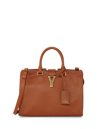 Y-Ligne Cabas Mini Bag, Tan