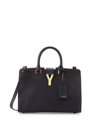 Y-Ligne Cabas Mini Bag, Marin Navy