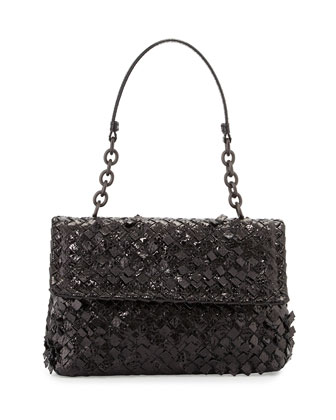 Olimpia Tobu Ayers Shoulder Bag, Black