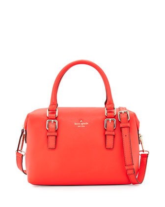 cobble hill sami satchel bag, geranium