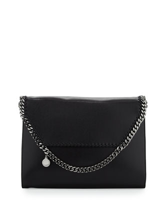 Falabella Big Flap Crossbody Bag, Black