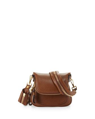 Jennifer Small Shoulder Bag, Caramel