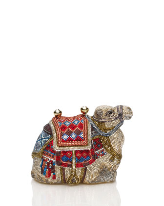 Crystal Camel Minaudiere