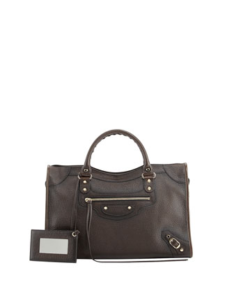 Classic City Bag, Distressed Brown