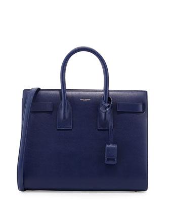 Sac de Jour Small Tote Bag, Bleu Royal