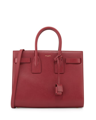 Sac de Jour Small Tote Bag, Carmen Cherry