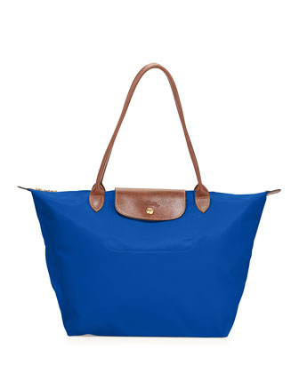 Le Pliage Large Tote Bag, Blue