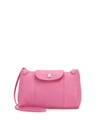 Le Pliage Cuir Crossbody Bag, Bubble