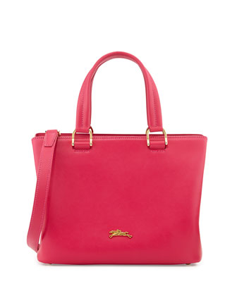 Honore Handbag w/Removable Strap, Hot Pink