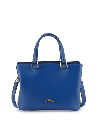 Honore Handbag w/Removable Strap, Blue