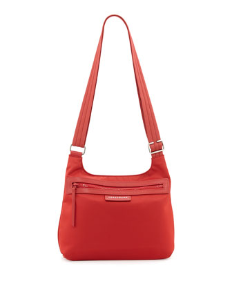 Le Pliage Nylon Crossbody Bag, Poppy