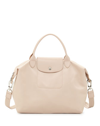 Le Pliage Neo Shoulder Tote with Strap, Beige