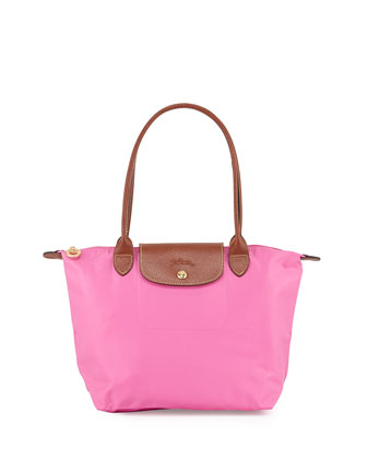 Le Pliage Medium Nylon Shoulder Tote Bag, Bubble