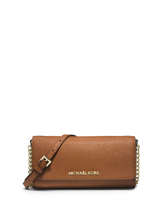Jet Set Saffiano Travel Wallet-on-Chain, Luggage