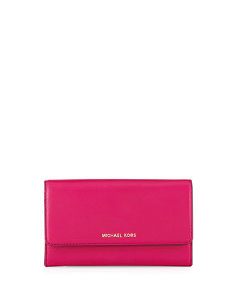 Colby Carryall Wallet, Fuchsia