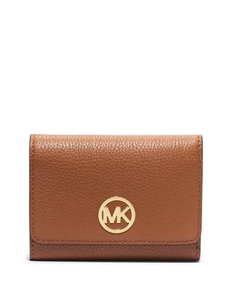 Fulton Medium Tri-Fold Wallet, Luggage