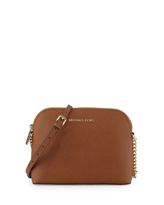 Jet Set Small Travel Dome Crossbody Bag, Luggage