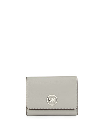 Fulton Medium Tri-Fold Wallet, Ash Gray