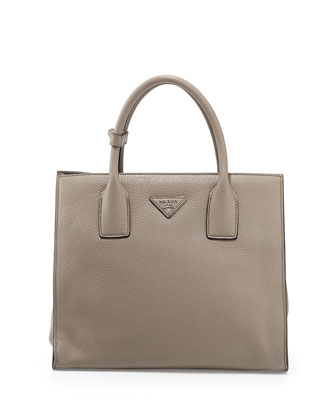 Daino Tote Bag, Light Gray (Argilla)